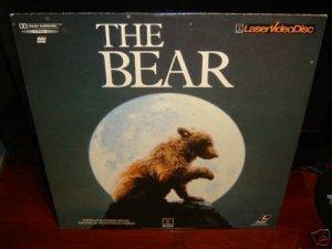 Laserdisc THE BEAR [Youk] 1989 Jack Wallace Lot#2 FS LD
