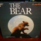 Laserdisc THE BEAR [Youk] 1989 Jack Wallace Lot#1 FS LD