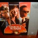 Laserdisc TEQUILA SUNRISE 1988 Mel Gibson Lot#2 FS LD