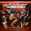 Laserdisc TALONS OF THE EAGLE 1992 Billy Blanks FS SEALED UNOPENED LD