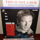 Laserdisc CLEAR AND PRESENT DANGER 1994 Lot#7 LTBX THX LD