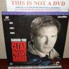 Laserdisc CLEAR AND PRESENT DANGER 1994 Lot#6 LTBX THX LD