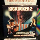 Laserdisc KICKBOXER 2: THE ROAD BACK 1990 Dennis Chan FS LD