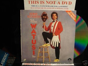 Laserdisc HOWIE MANDEL'S NORTH AMERICAN WATUSI TOUR 1986 Standup Comedian FS Rare LD