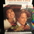 Laserdisc FOUR WEDDINGS AND A FUNERAL 1993 Hugh Grant Lot#5 DLX LTBX SEALED UNOPENED LD