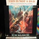 Laserdisc EXCALIBUR 1981 Nigel Terry Lot#5 LTBX SEALED UNOPENED LD