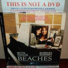 Laserdisc BEACHES 1989 Bette Middler Lot#2 FS LD Movie [797 AS]