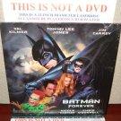 Laserdisc BATMAN FOREVER 1995 Val Kilmer Lot#9 LTBX LD