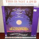 Laserdisc ARACHNOPHOBIA 1990 Jeff Daniels Julian Sand Lot#2 LTBX LD Movie [1080 AS]