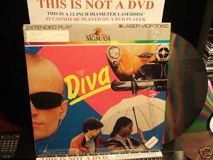 Laserdisc DIVA 1981 French w/English Subtitles Cult Classic FS LD
