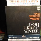 Laserdisc DEAD OF WINTER 1987 Arthur Penn FS LD