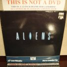 Laserdisc ALIENS 1986 Sigourney Weaver Lot#6 FS James Cameron Sci-Fi LD Movie [1504-80]