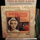 LD Music Video STARS OF THE RUSSIAN BALLET 1984 Galina Ulanova Swan Lake Laserdisc [ID700CO]