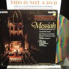LD Music Video MESSIAH FOUNDLING HOSPITAL VERSION 1754 Lot#1 Frideric Handel Laserdisc [PA-86-174]