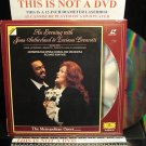 LD Opera AN EVENING WITH JOAN SUTHERLAND AND LUCIANO PAVAROTTI 1989 Laserdisc Music Video [072 2201]
