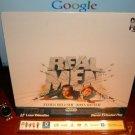 Laserdisc REAL MEN 1987 James Belushi John Ritter FS LD