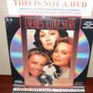 Laserdisc ENEMIES, A LOVE STORY 1989 Anjelica Houston SEALED UNOPENED FS LD