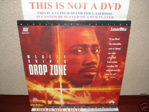 Laserdisc DROP ZONE 1994 Wesley Snipes Lot#2 LTBX THX AC3 LD