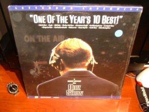 Laserdisc QUIZ SHOW 1994 Turturro Lot#3 LTBX SEALED UNOPENED LD