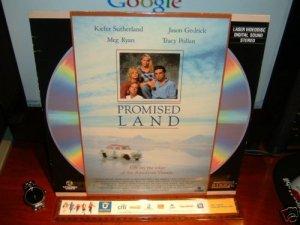 Laserdisc PROMISED LAND 1988 Meg Ryan FS LD