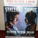 Laserdisc DEMOLITION MAN 1993 Wesley Snipes Lot#5 LTBX LD