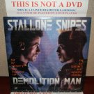 Laserdisc DEMOLITION MAN 1993 Wesley Snipes Lot#4 LTBX LD