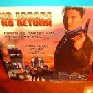Laserdisc NO ESCAPE, NO RETURN 1993 John Saxon SEALED UNOPENED FS LD