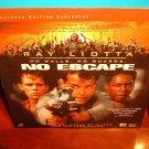 Laserdisc NO ESCAPE 1994 Ray Liotta Lot#2 LTBX LD