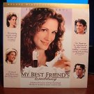 Laserdisc MY BEST FRIEND'S WEDDING 1997 Julia Roberts DLX LTBX LD