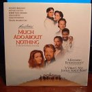 Laserdisc MUCH ADO ABOUT NOTHING 1993 Michael Keaton Lot#3 FS LD