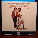 Laserdisc MEMORIES OF ME 1988 Billy Crystal FS LD
