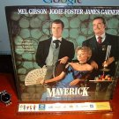 Laserdisc MAVERICK 1994 Jodie Foster Lot#3 LTBX LD