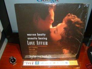 Laserdisc LOVE AFFAIR 1994 Warren Beatty LTBX LD