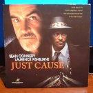 Laserdisc JUST CAUSE 1995 Sean Connery LTBX LD