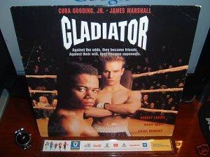 Laserdisc GLADIATOR 1992 Cuba Gooding Jr FS LD