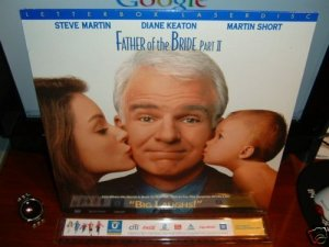 Laserdisc FATHER OF THE BRIDE: PART II  1995 Steve Martin LTBX SEALED UNOPENED LD