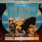 Laserdisc FROM HOLLYWOOD TO DEADWOOD 1989 Scott Paulin SEALED UNOPENED LD