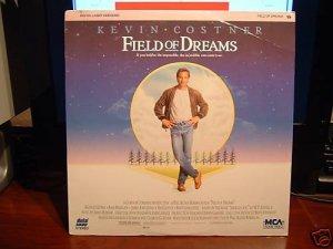 Laserdisc FIELD OF DREAMS 1989 Kevin Costner Lot#1 FS LD