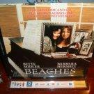 Laserdisc BEACHES 1989 Bette Middler Lot#3 FS LD Movie [797 AS]