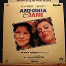 Laserdisc ANTONIA & JANE 1990 BBC Imelda Staunton Saskia Reeves FS LD Movie [LV 15128]