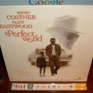 Laserdisc A PERFECT WORLD 1993 Kevin Costner Lot#1 LTBX LD Movie [12990]
