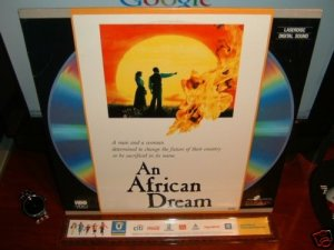 Laserdisc AN AFRICAN DREAM 1988 Kitty Aldridge FS Rare LD Movie [ID7633HB]