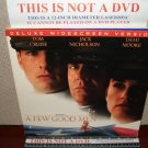 Laserdisc A FEW GOOD MEN 1993 Tom Cruise Lot#7 DLX LTBX LD Movie [27896]