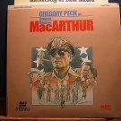 Laserdisc MacARTHUR (1977) General Douglas FS Classic LD