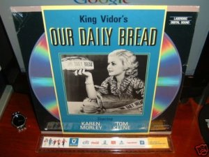 Laserdisc OUR DAILY BREAD (1934) King Vidor's RARE B&W Classic LD