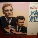 Laserdisc SWEET SMELL OF SUCCESS (1957) Burt Lancester FS Classic LD