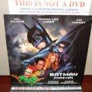 Laserdisc BATMAN FOREVER 1995 Val Kilmer Lot#5 LTBX LD