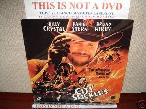 Laserdisc CITY SLICKERS 1991 Bruno Kirby Lot#9 FS LD
