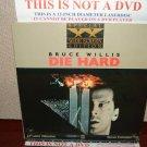 Laserdisc DIE HARD (Part 1) Bruce Willis Lot#3 SWE USA Pressing LD