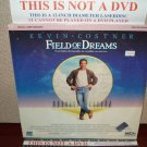 Laserdisc FIELD OF DREAMS 1989 Kevin Costner Lot34 FS LD